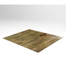 Teppichboden mit Schaumstoffrücken. Individuell bedruckt.