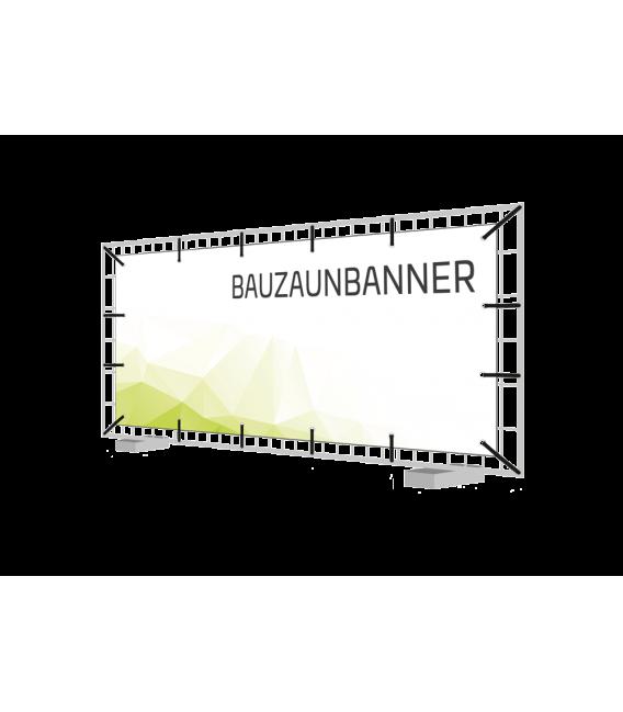 Bauzaunbanner 170 cm x 330 cm, 2 Stück