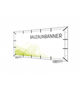 Bauzaunbanner 330 cm x 170 cm PVC-Plane