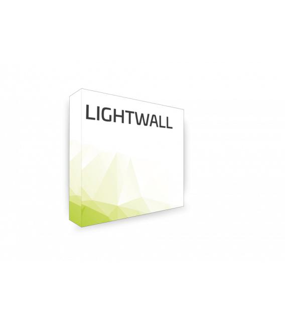 LIGHTWALL. 360° Display. Inkl. Druck.