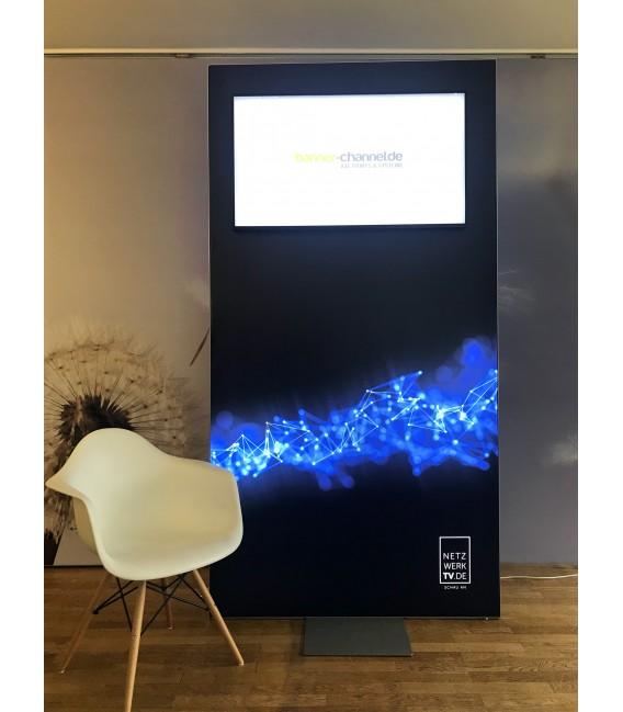 M-Design LED-Lightbox. einseitig. inkl. Druck.