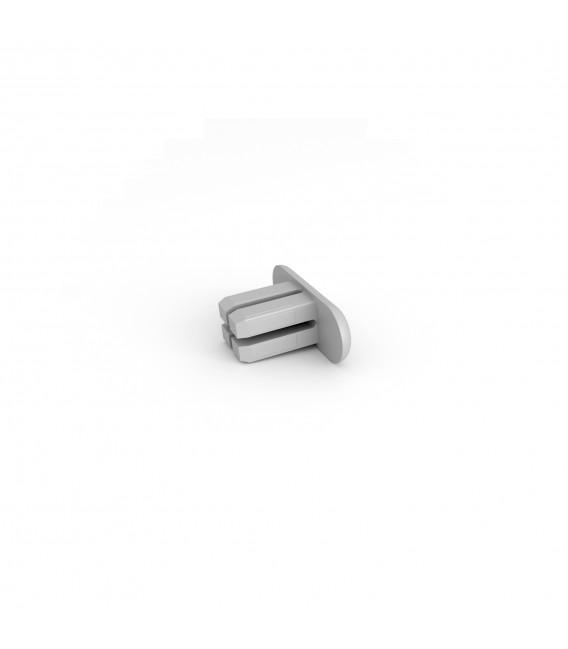 ENDSTOPFEN aus Kunststoff für S-Design Profilschiene, flach