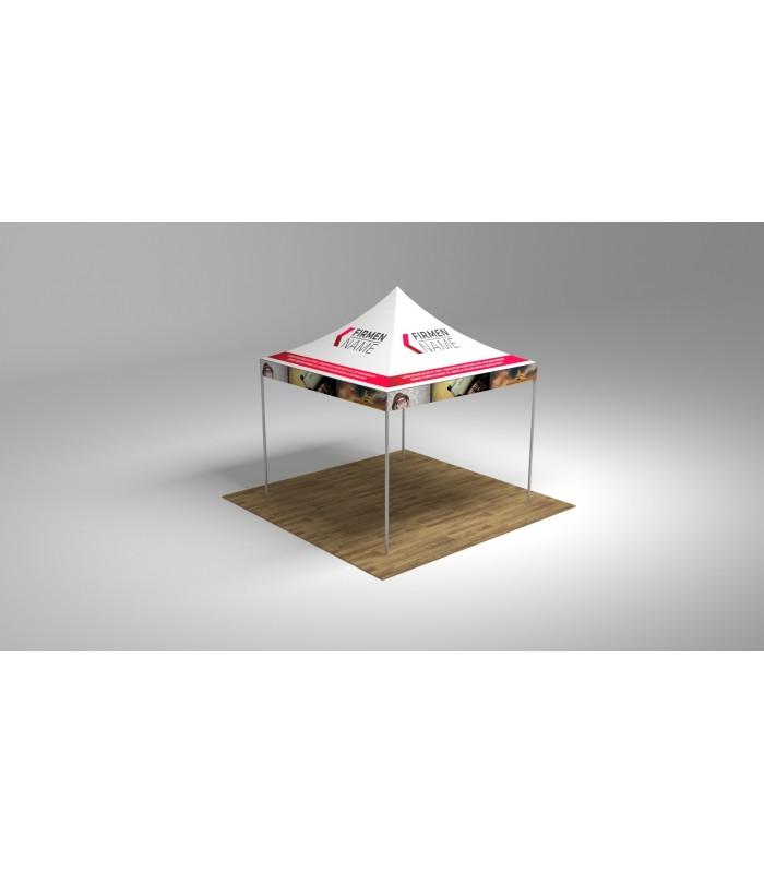 faltpavillon 3x3 indoor outdoor individueller druck. Black Bedroom Furniture Sets. Home Design Ideas